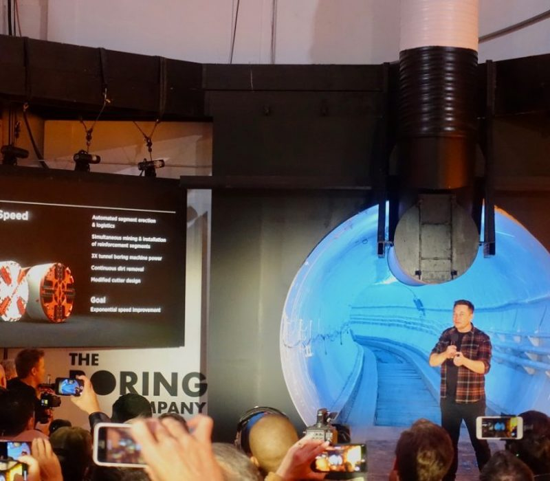 Elon Musk The Boring Company Presentation